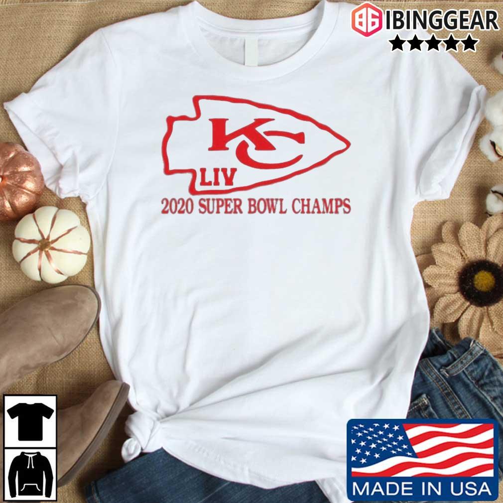 Kansas City Chiefs 2020 Super Bowl LIV Champs shirt