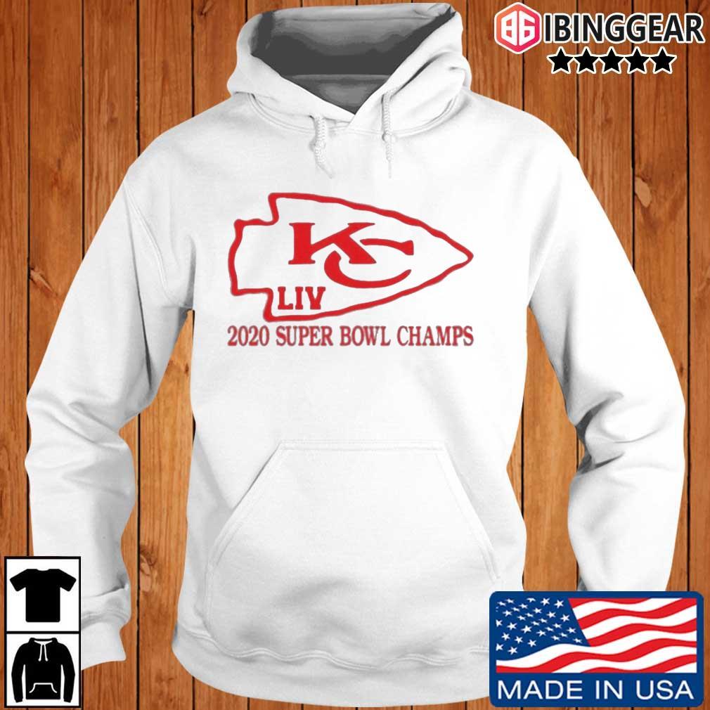 Kansas City Chiefs 2020 Super Bowl LIV Champs Ibinggear hoodie trang