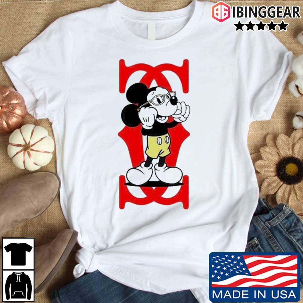 Mickey Mouse Cartier Capital boss up shirt