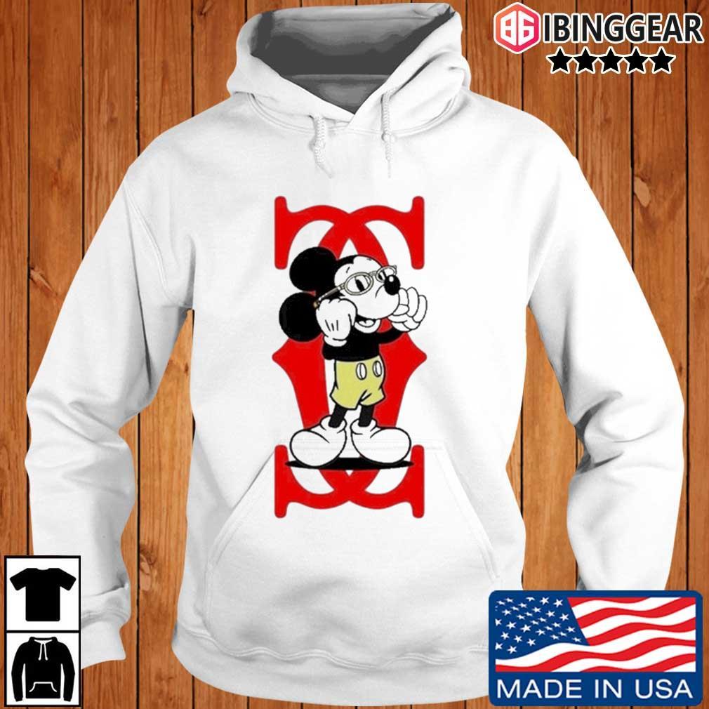 Mickey Mouse Cartier Capital boss up Ibinggear hoodie trang