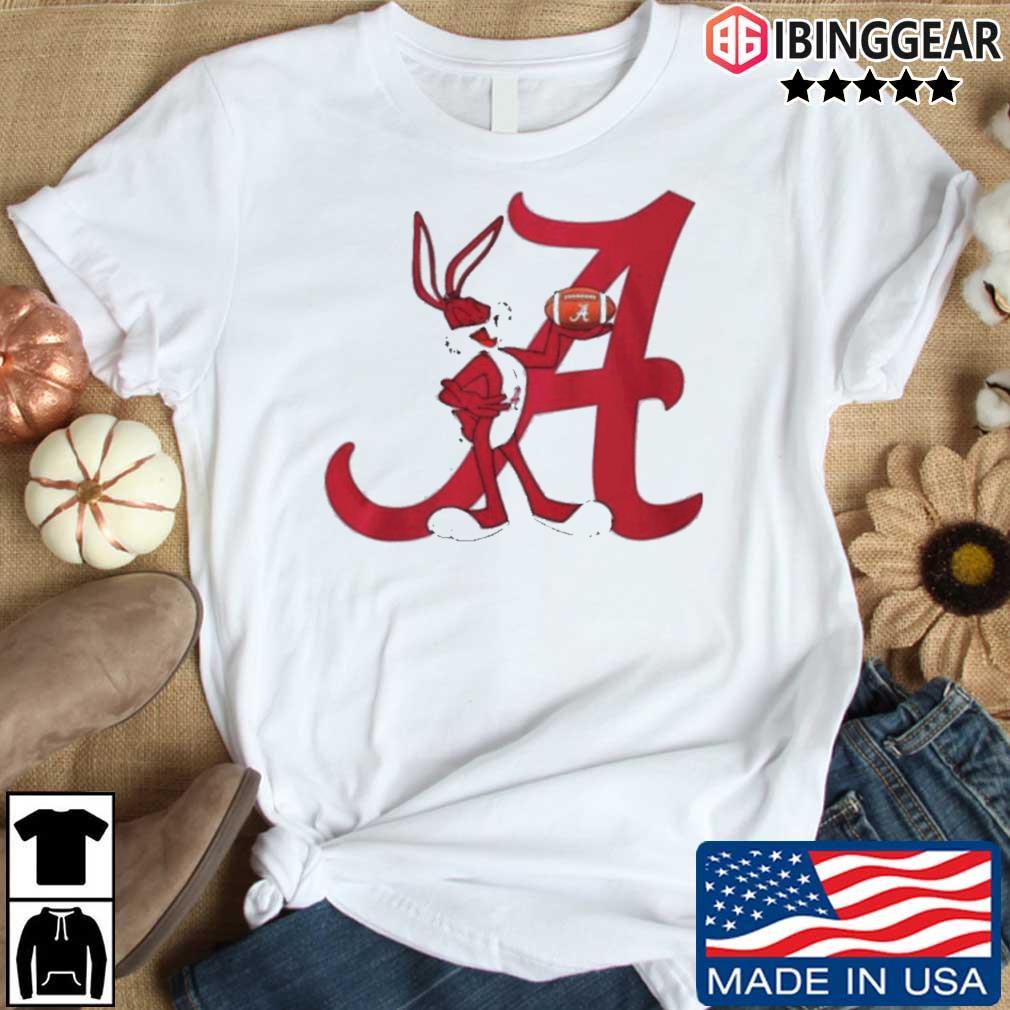 Rabbit rugby Alabama Crimson Tide shirt
