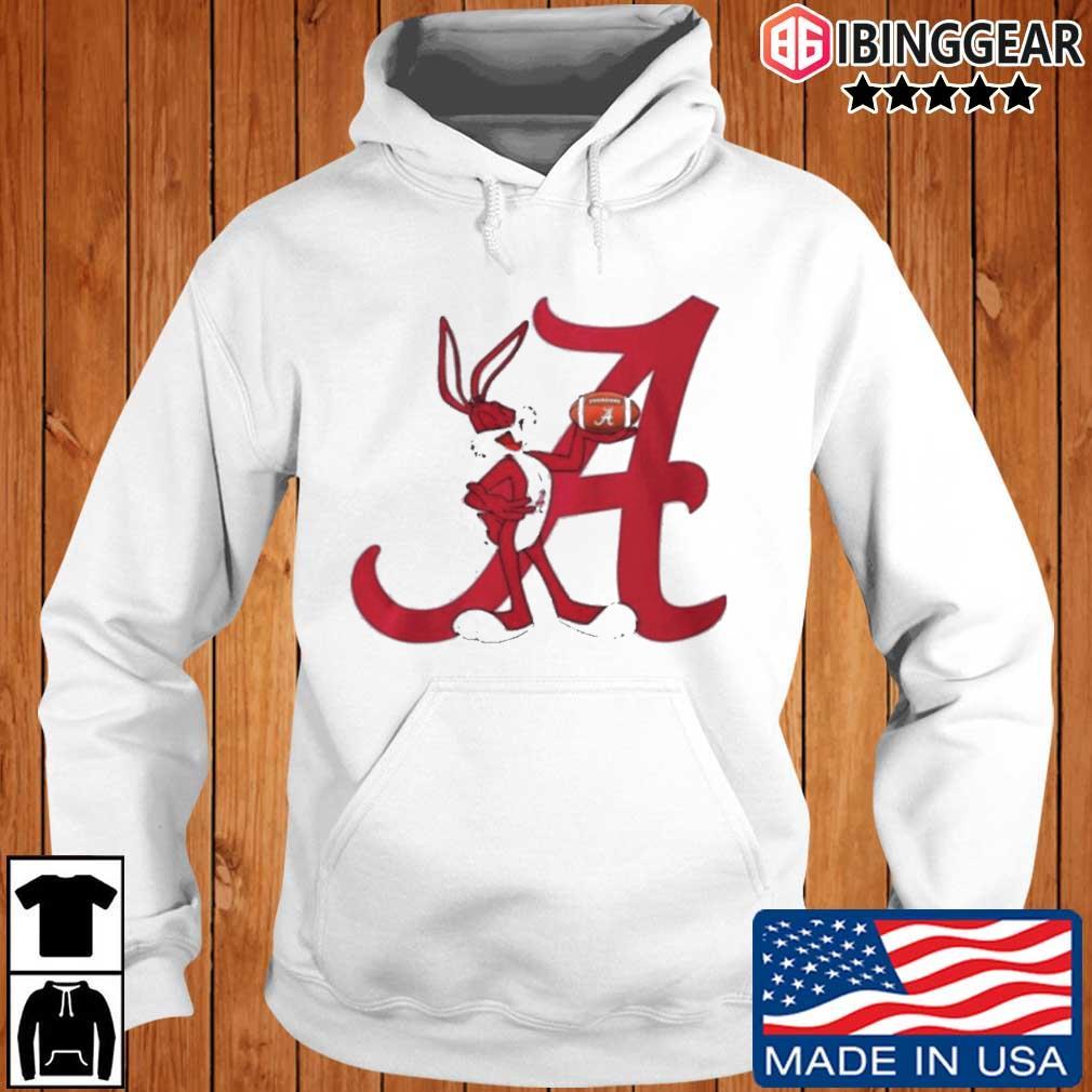 Rabbit rugby Alabama Crimson Tide Ibinggear hoodie trang