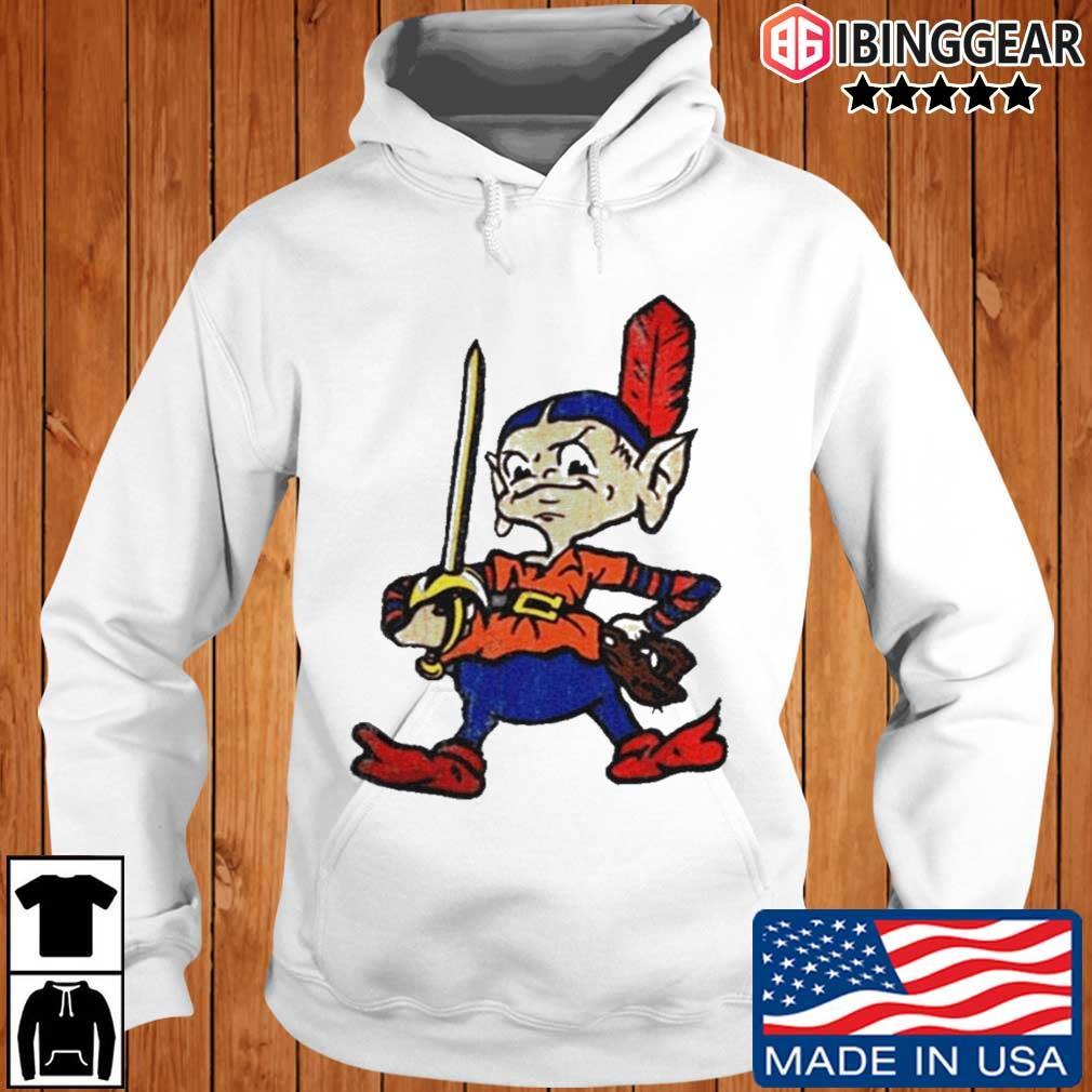 Team Cleveland Basketball Baseball Ibinggear hoodie trang