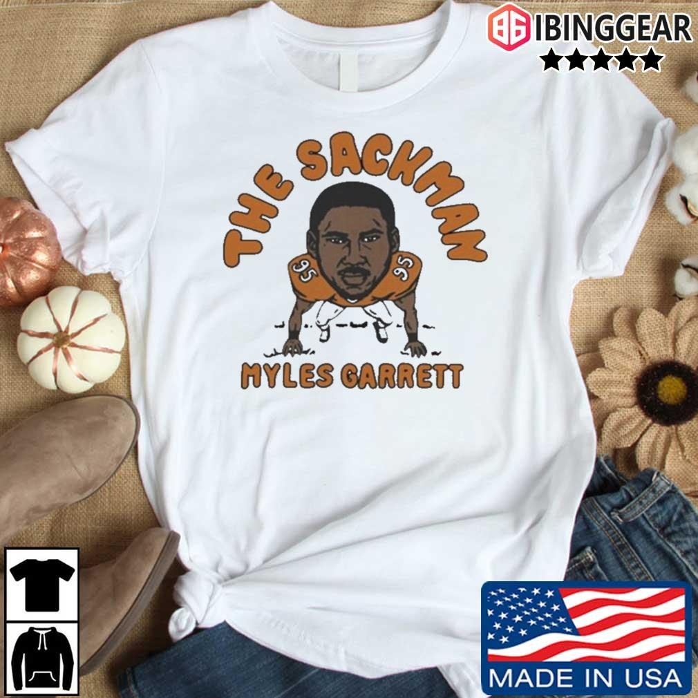 The Sackman Myles Garrett shirt