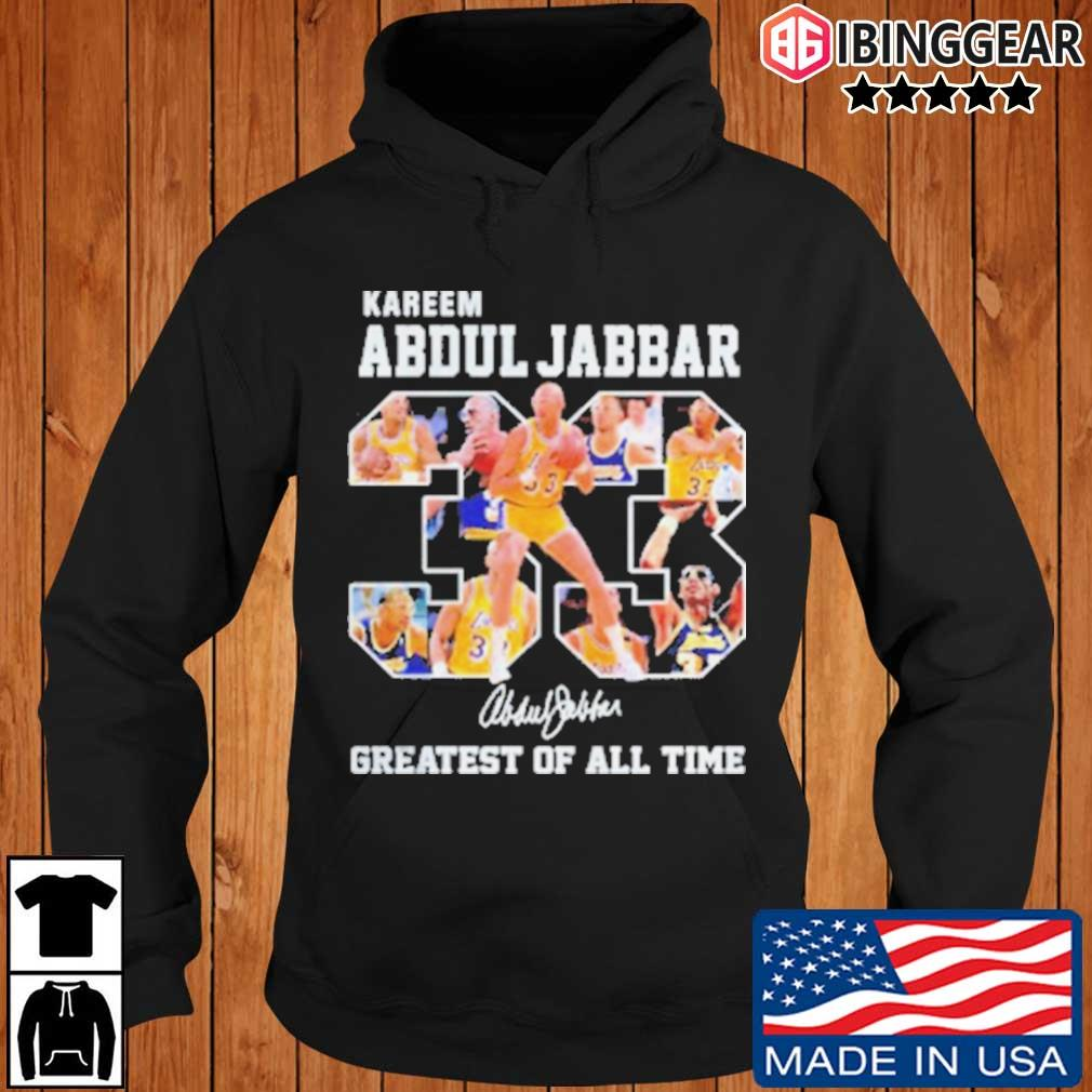 33 Kareem Abdul Jabbar Signature Greatest Of All Time Shirt Ibinggear hoodie den