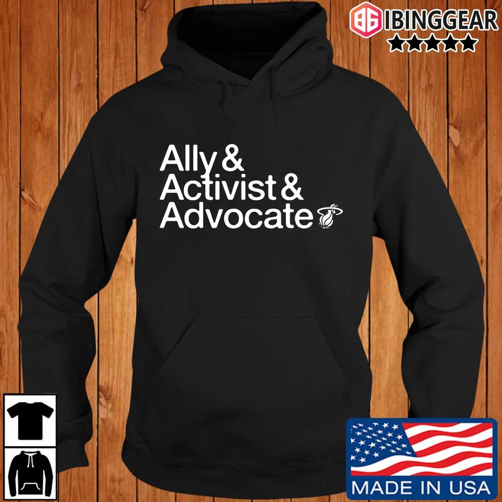 Ally and activist and advocate Ibinggear hoodie den