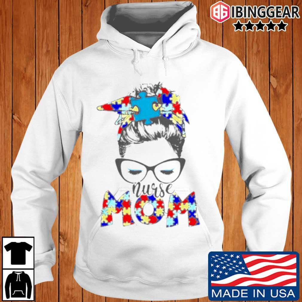 Autism Nurse mom Ibinggear hoodie trang