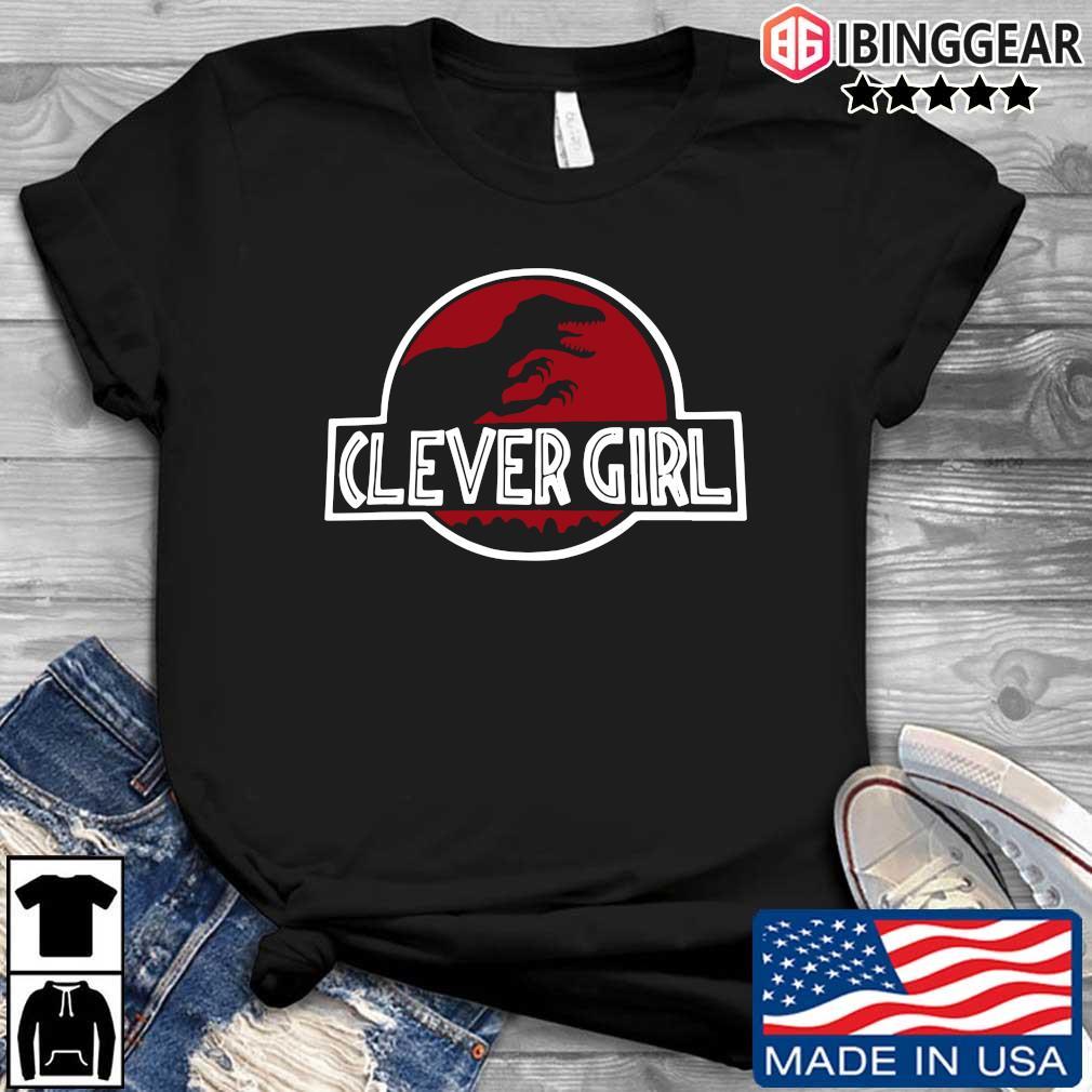 Clever Girl Velociraptor Dinosaur Parody Shirt