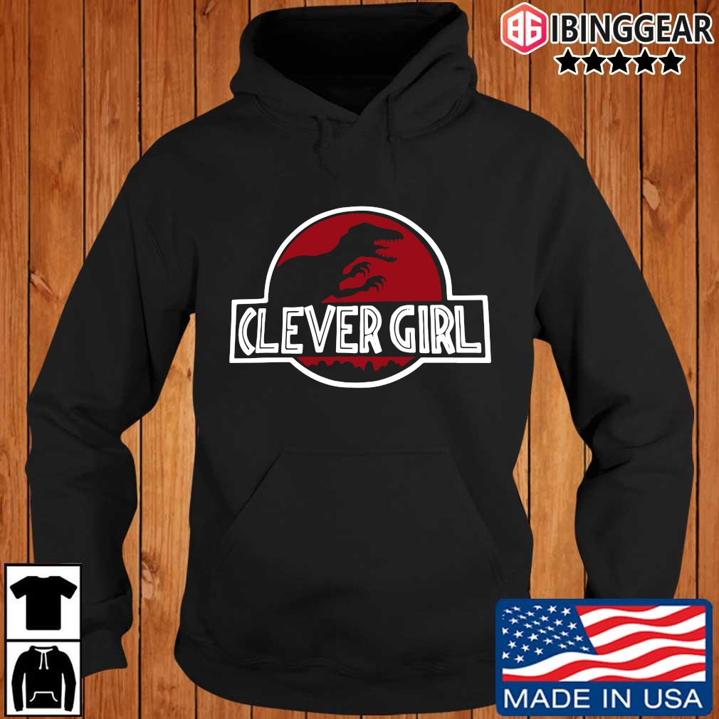 Clever Girl Velociraptor Dinosaur Parody Shirt Ibinggear hoodie den