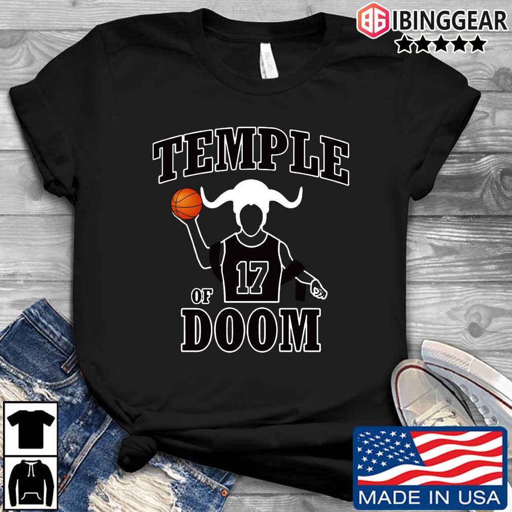Garrett Temple Chicago Bulls Jerseys Temple of 17 Doom shirt