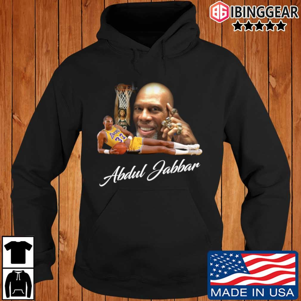 Kareem Abdul Jabbar 6 Rings Los Angeles Basketball Shirt Ibinggear hoodie den