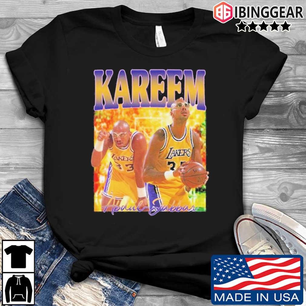 Kareem Abdul Jabbar Tee Shirt