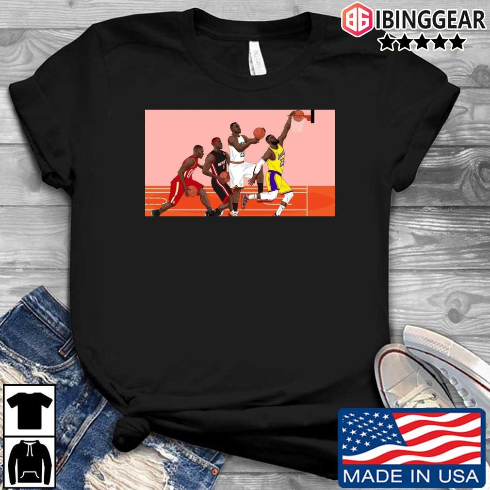 LeBron James NBA Superstar's Evolution Shirt