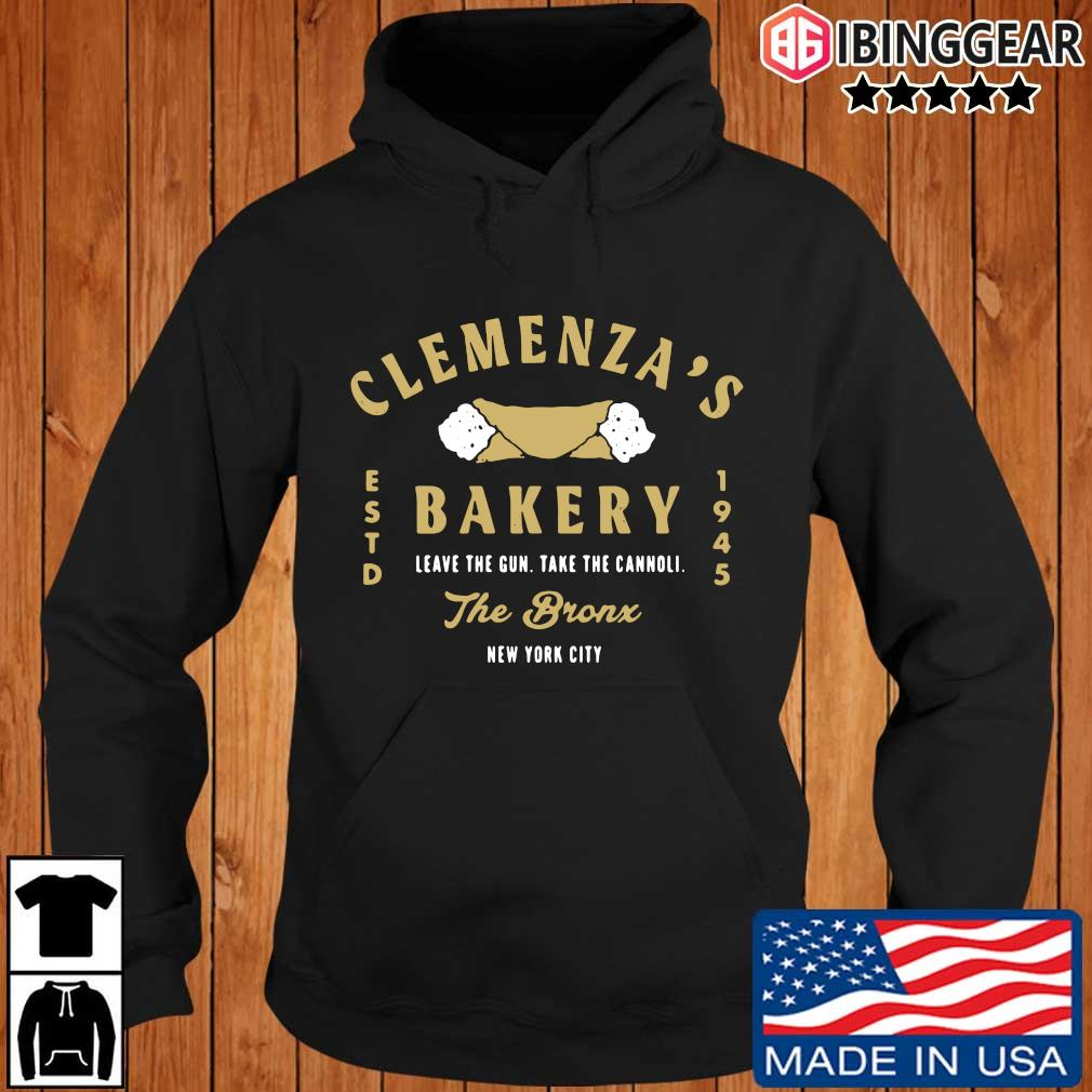 Official Clemenza's bakery leave the gun take the cannoli the bronx New York City Ibinggear hoodie den