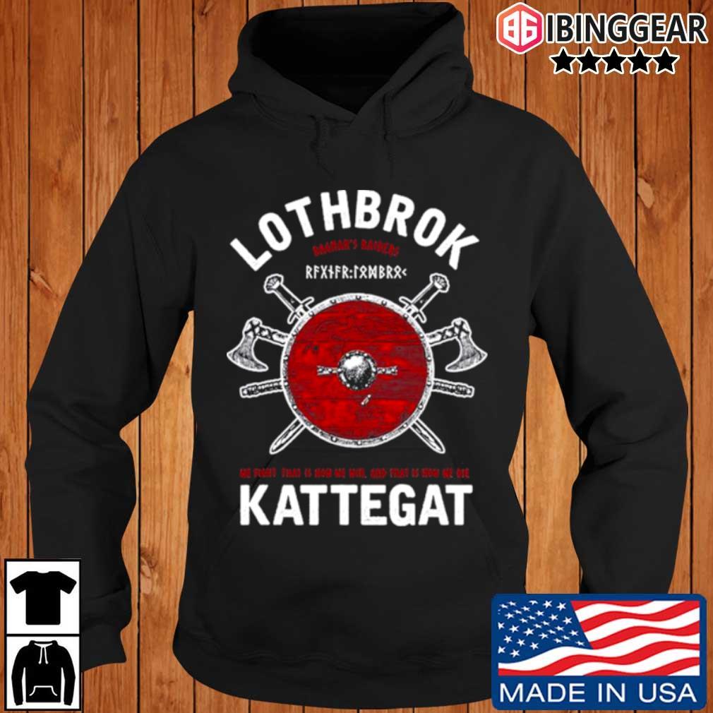 Ragnar lothbrok of kattegat Ibinggear hoodie den