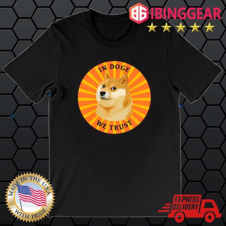 Dogecoin In Doge We Trust Retro shirt