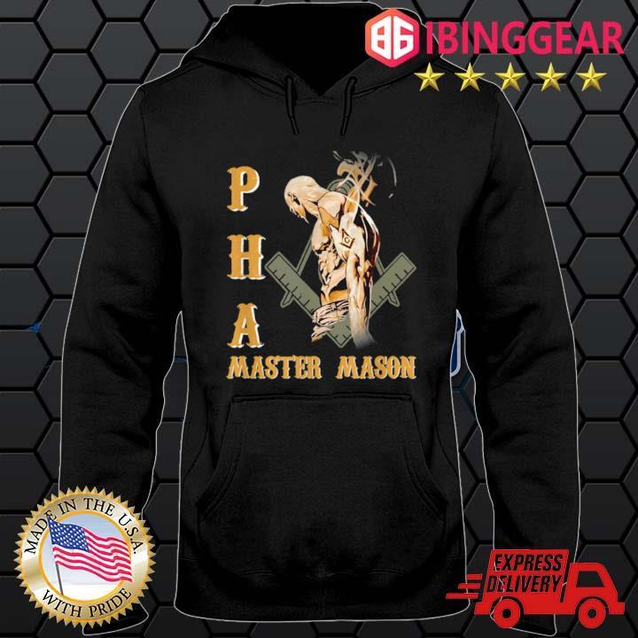 Greats Mason Prince Hall PHA Master Mason Shirt Hoodie den