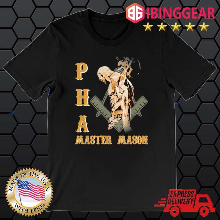 Greats Mason Prince Hall PHA Master Mason Shirt