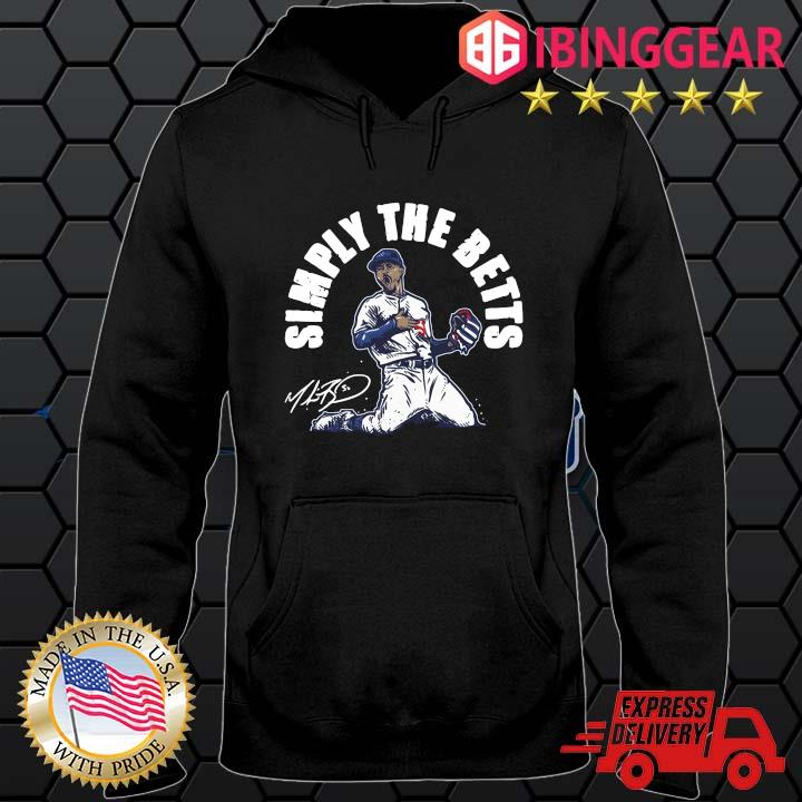 Mookie Betts simply the betts signature s Hoodie den