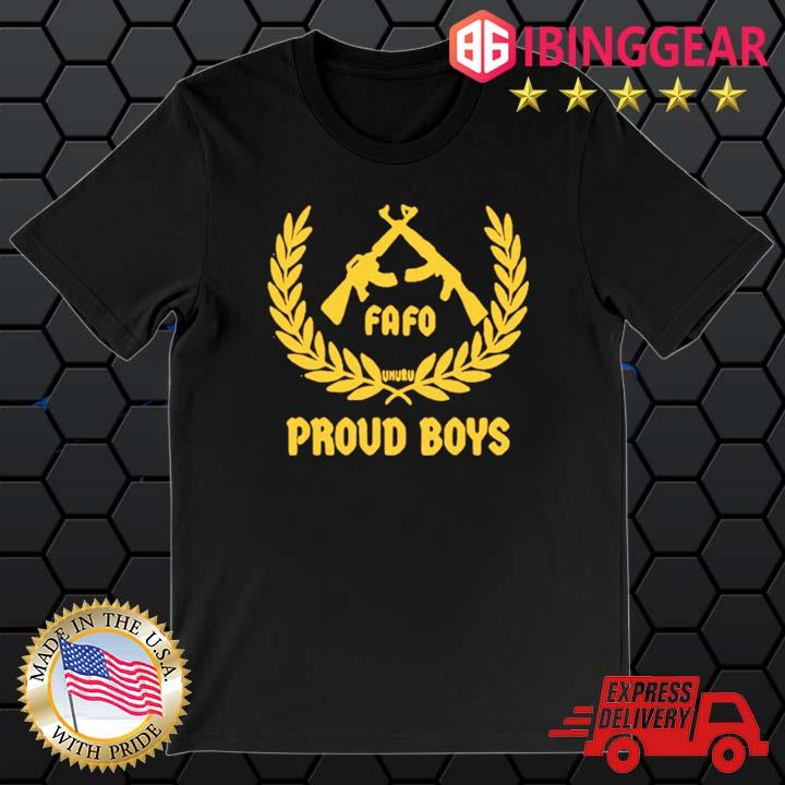 Official Fafo Proud Boys 2021 Shirt