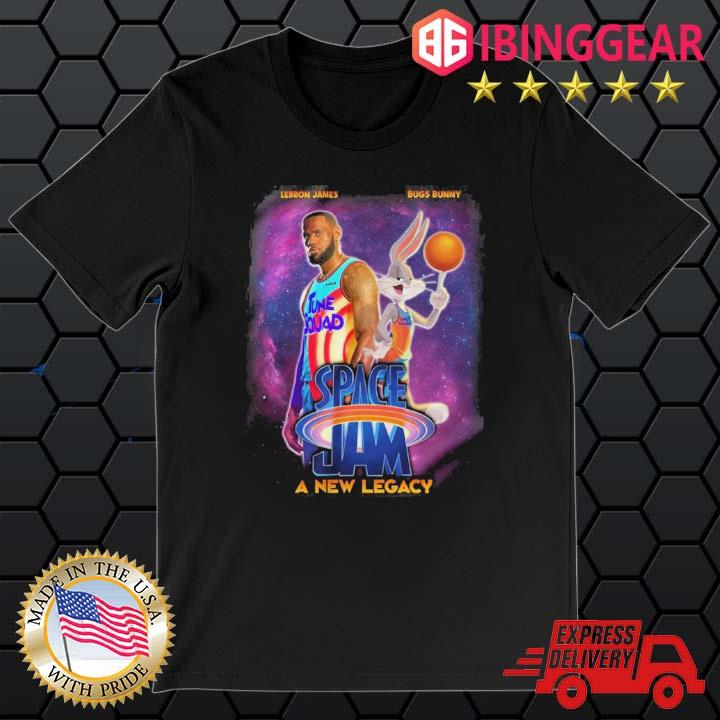 Space Jam 2 A New Legacy Lebron James T-Shirt