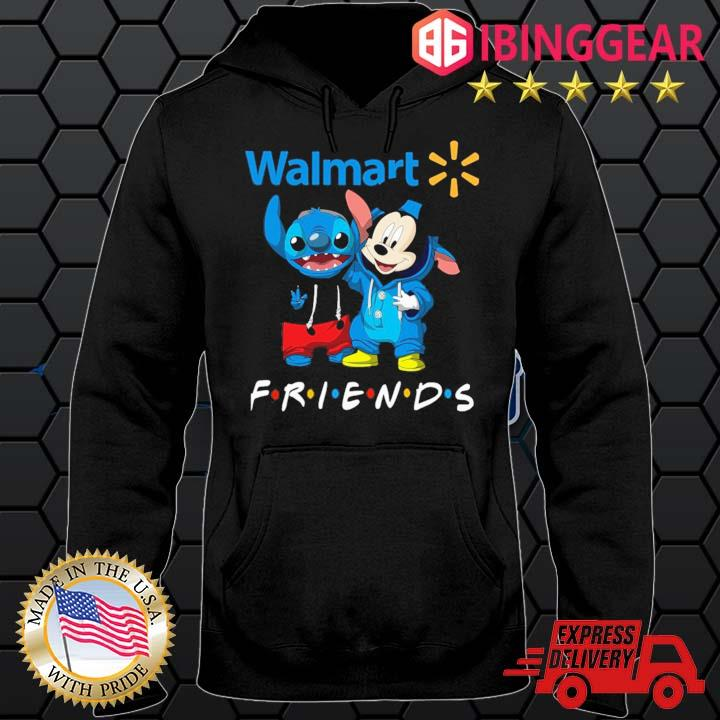 Stitch And Mickey Mouse Walmart Friends Shirt Hoodie den