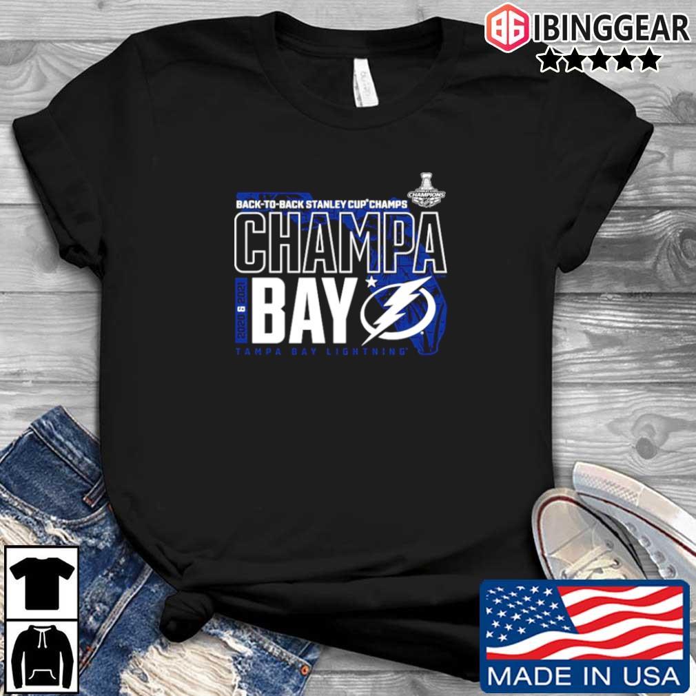 IBinggear - Tampa Bay Lightning Fanatics Branded Back To ...
