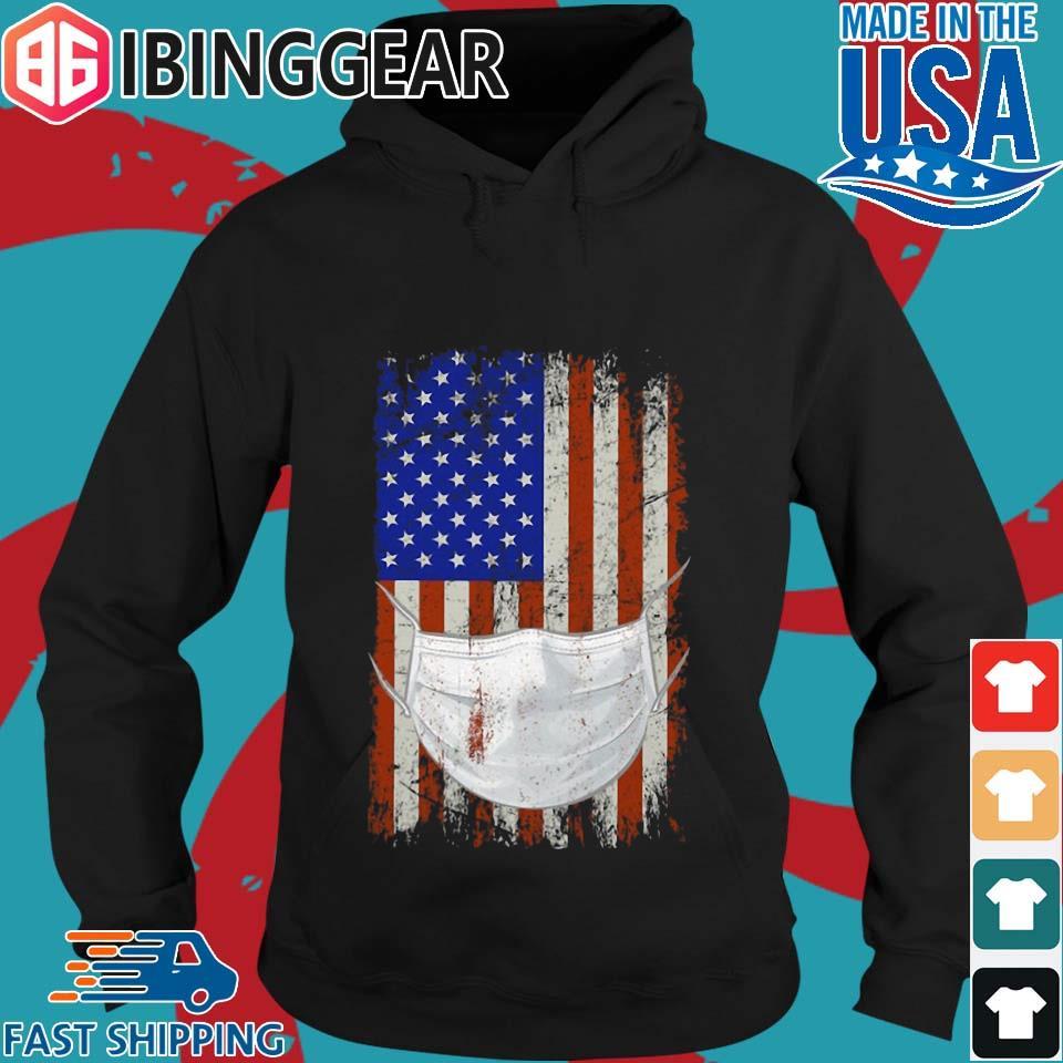 American flag Quarantined Corona Covid 2019 Shirt Hoodie den