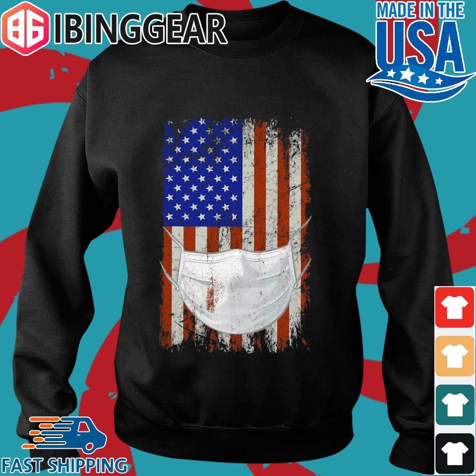 American flag Quarantined Corona Covid 2019 Shirt Sweater den