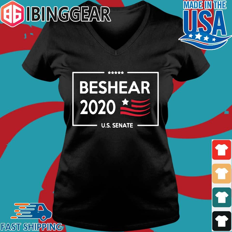 Andy BeShear Governor 2020 Shirt Ladies V-Neck