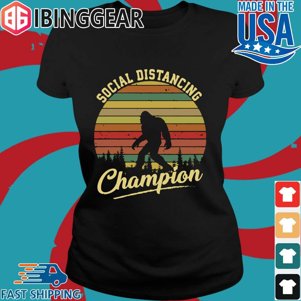 Bigfoot Social Distancing Champion Vintage s Ladies den Ibingger