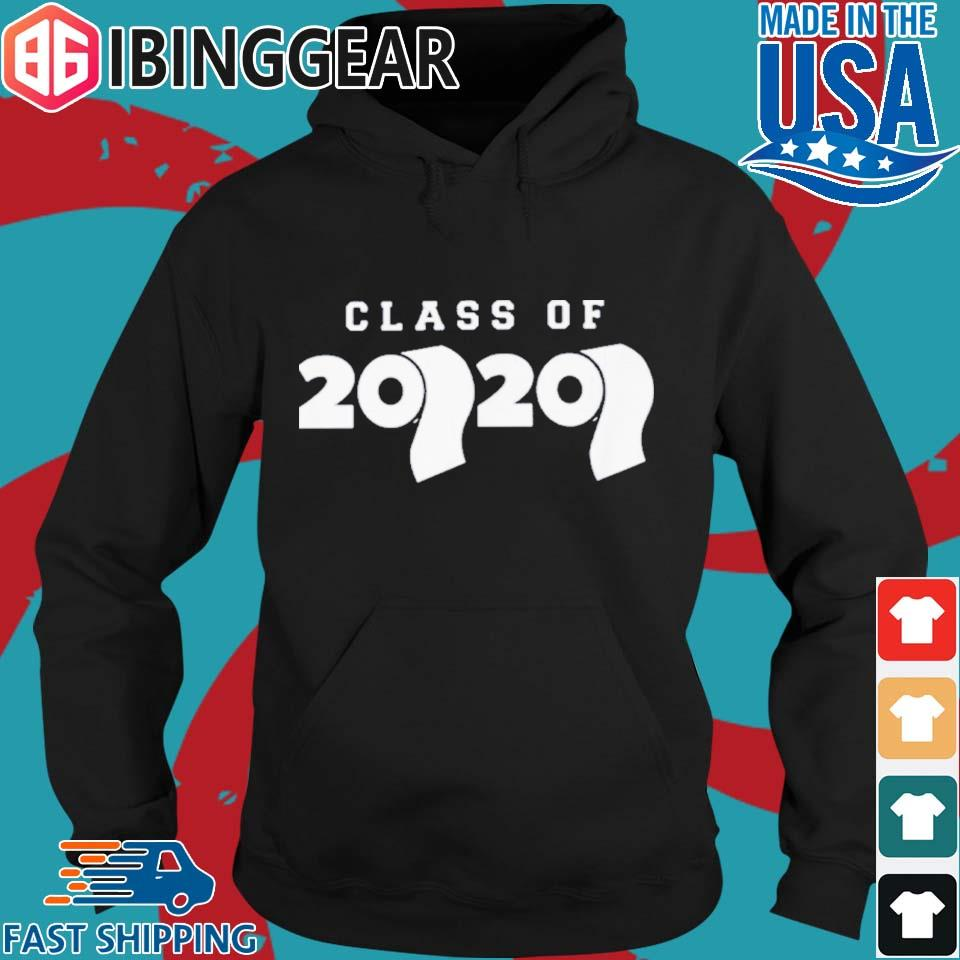 Class Of 2020 Toilet Paper Flu Virus Varsity Shirt Hoodie den