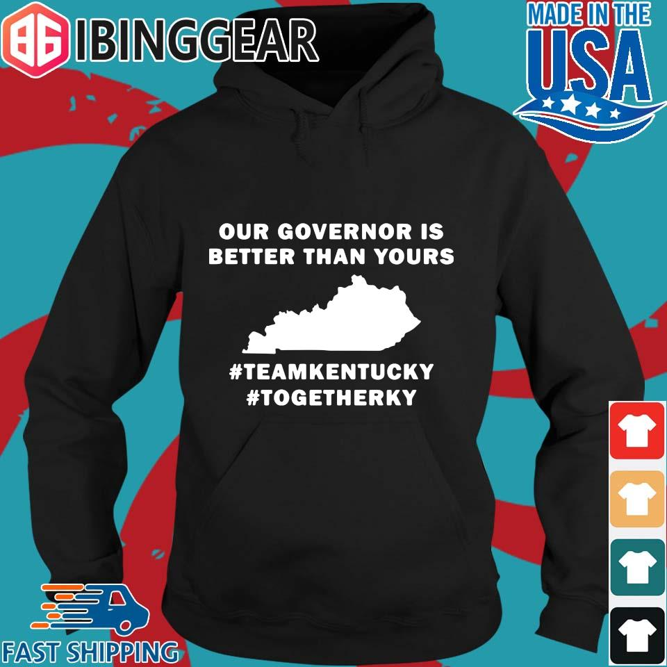 Kentucky Covid 19 our governor is better than yours s Hoodie den