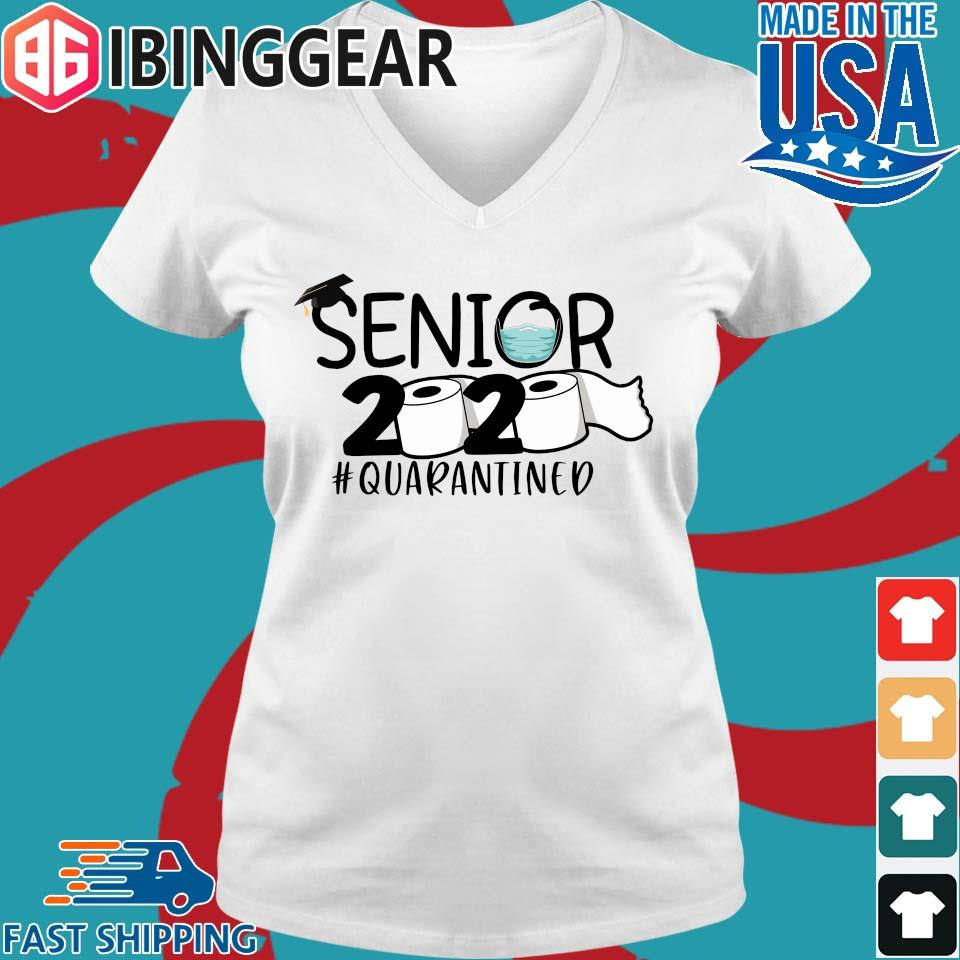 Seniors 2020 #Quarantined s Ladies V-Neck trang