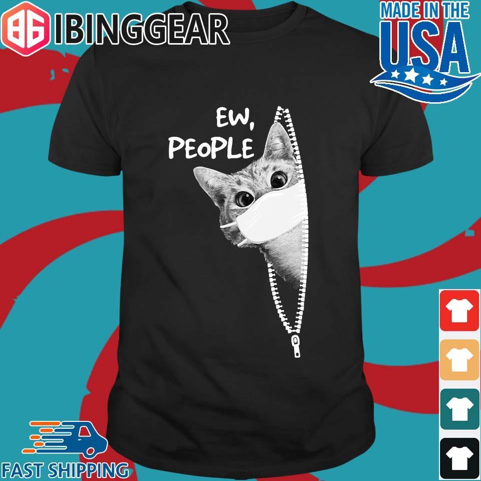 Cat Covid Ew People Classic Shirt