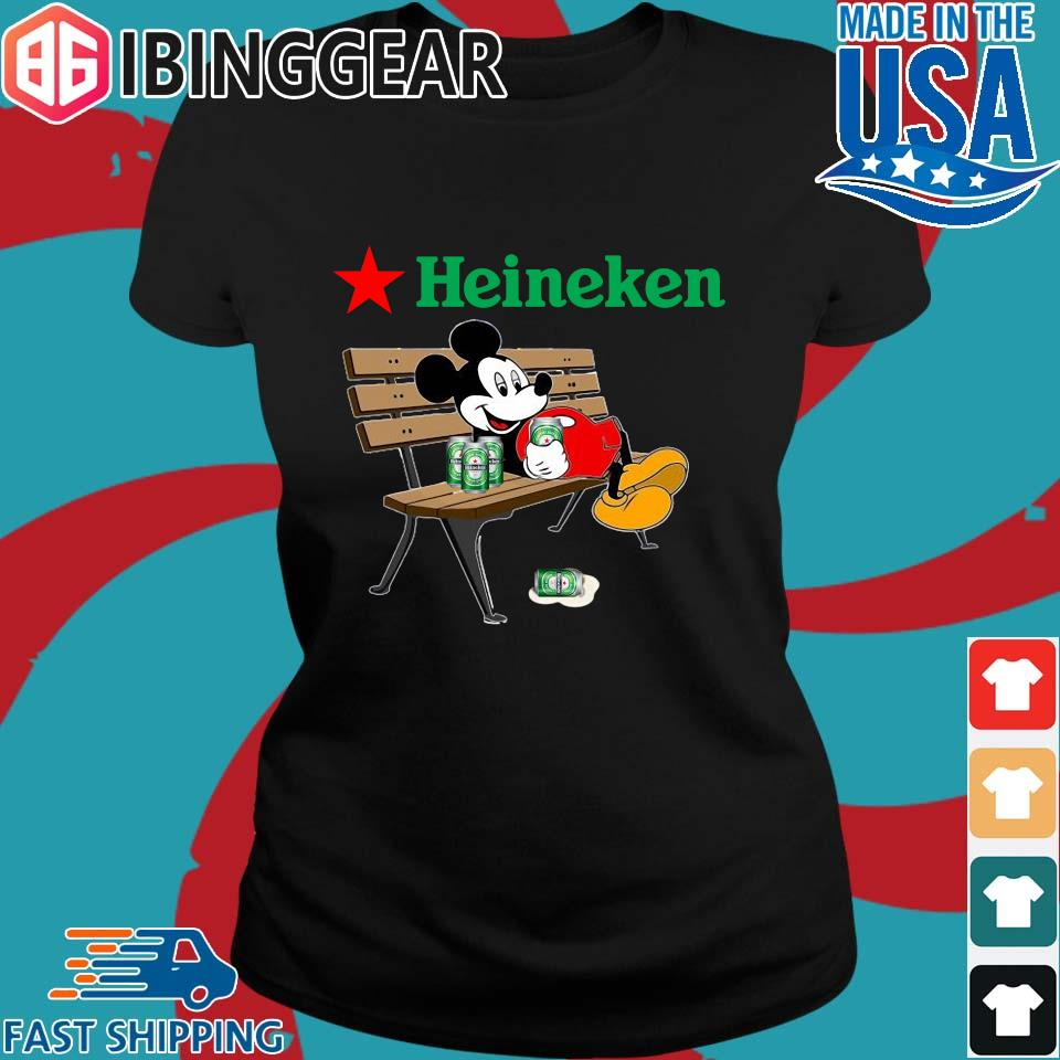 Mickey Mouse Drink Heineken Shirt Ladies den Ibingger