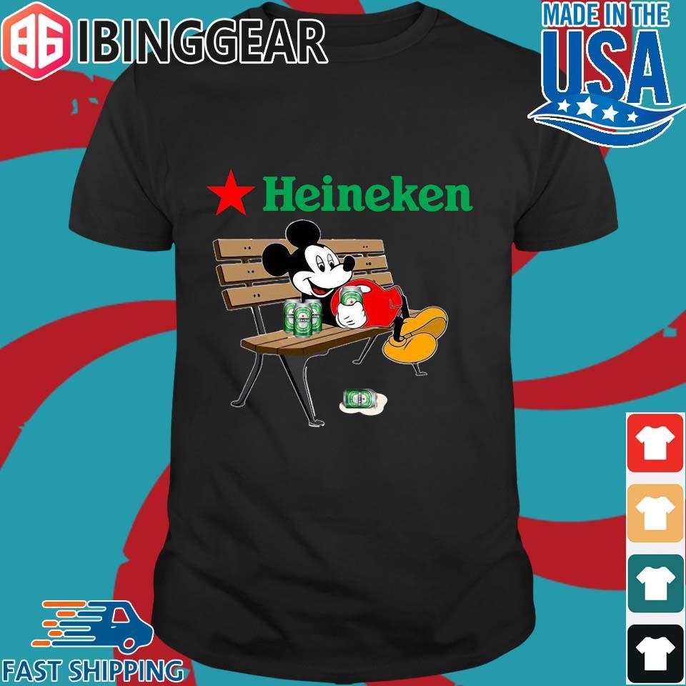 Mickey Mouse Drink Heineken Shirt