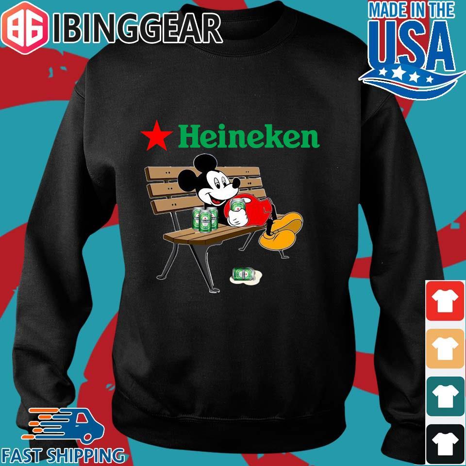 Mickey Mouse Drink Heineken Shirt Sweater den