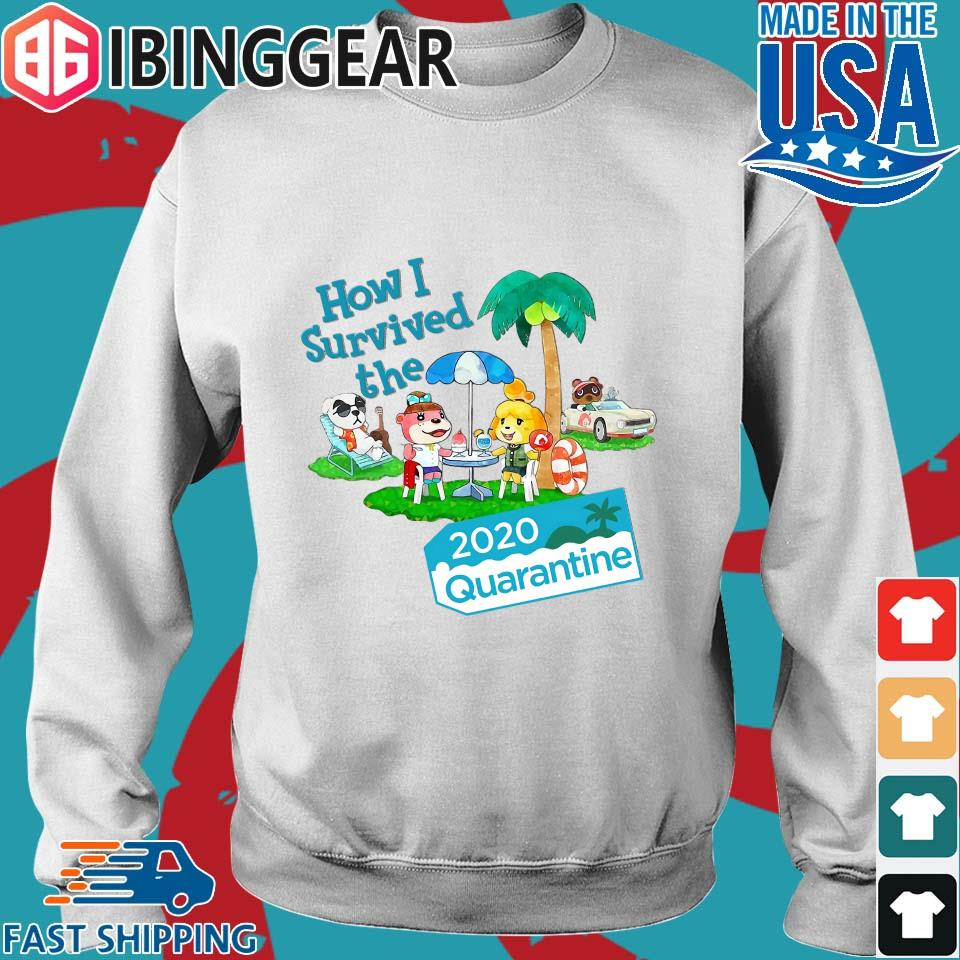 Animal Crossing How I Survived The 2020 Quarantine Shirt Sweater trang