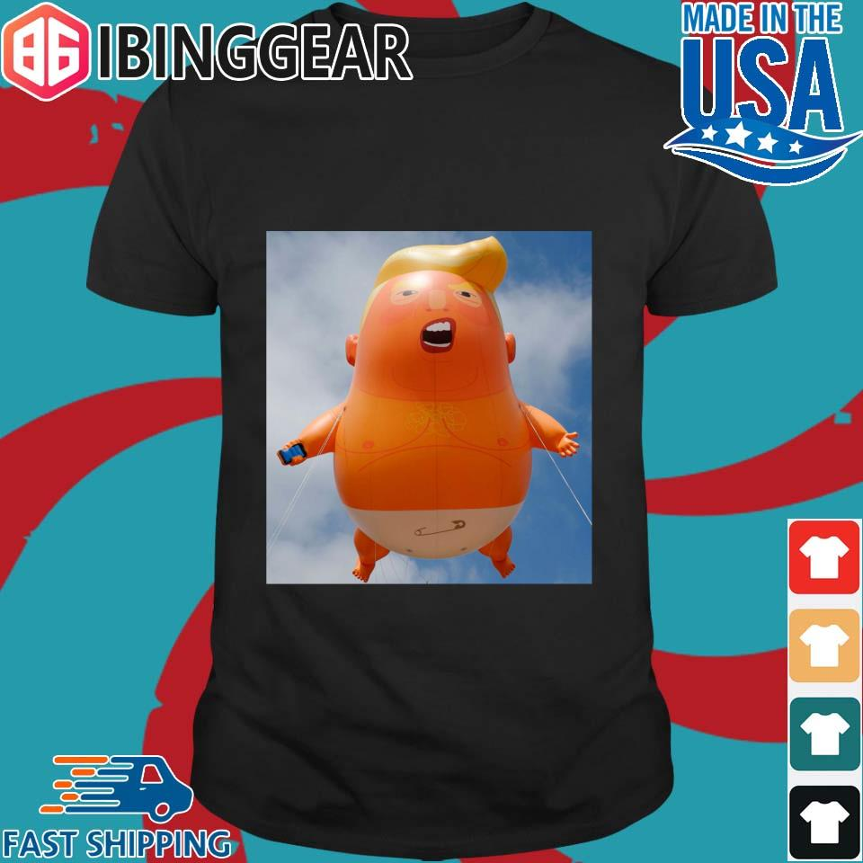 Baby Trump Balloon 4th Of July Shirt