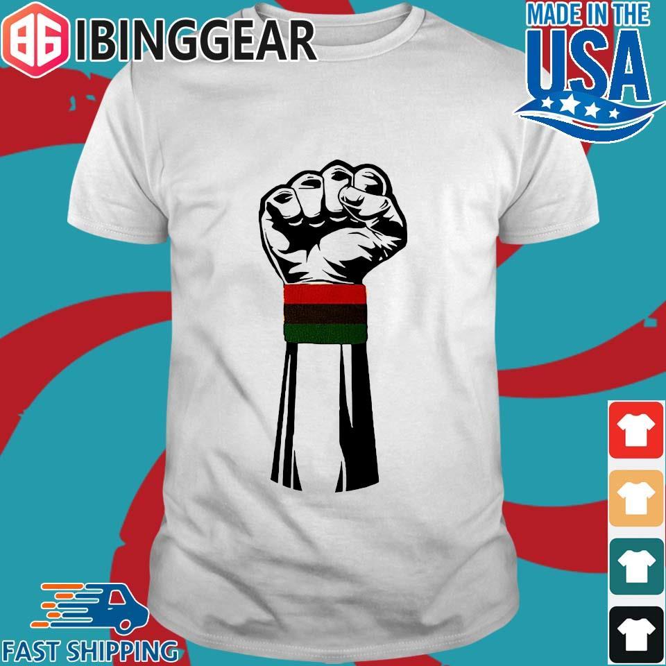 Black Power Fist African American Shirt