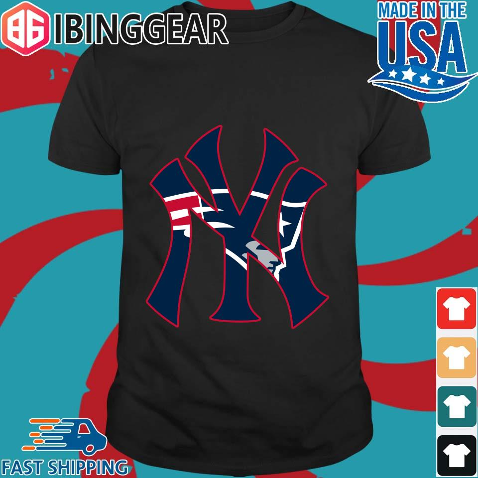 New England Patriots Inside New York Yankees Shirt