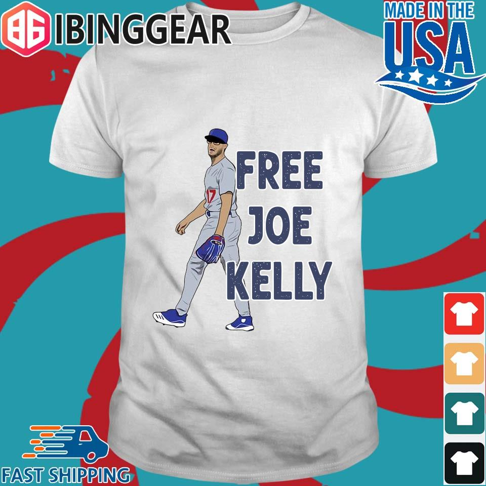 Free Joe Kelly tee shirt