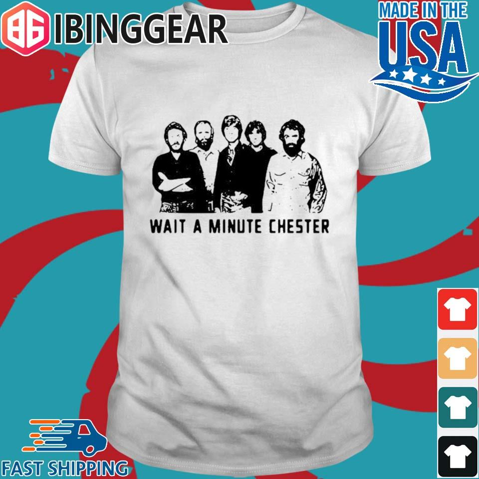 Rhinovirus the band wait a minute Chester shirt