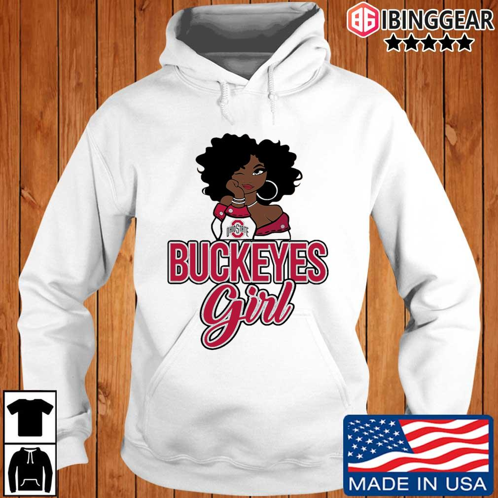 Black Girl Ohio State Buckeyes s Ibinggear hoodie trang
