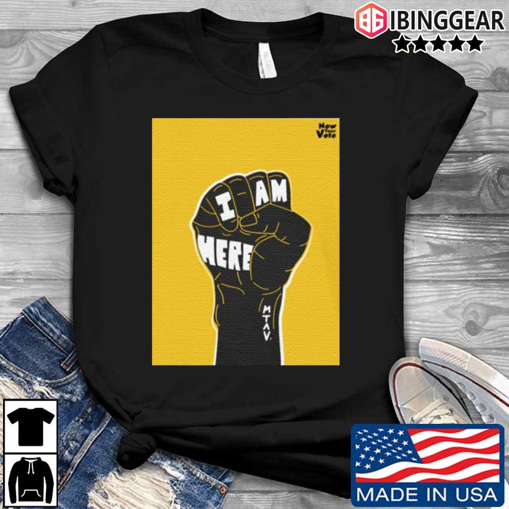 Strong Hand I Am Here Shirt