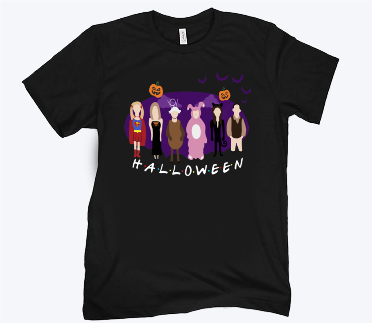 The One With The Halloween Party Unisex Shirt