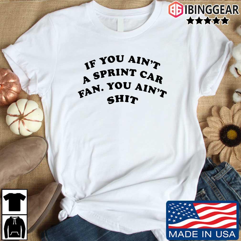 If you ain't a sprint car fan you aint shit shirt