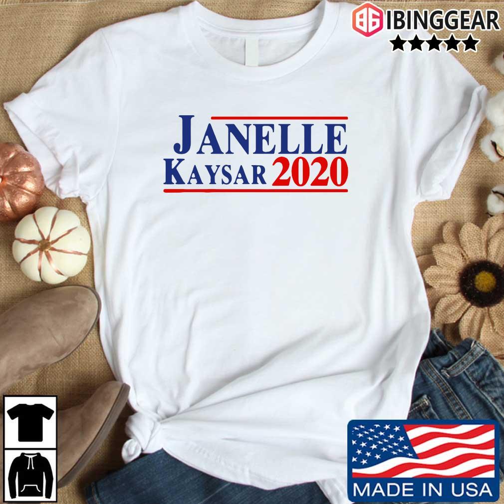 Janelle Kaysar 2020 shirt