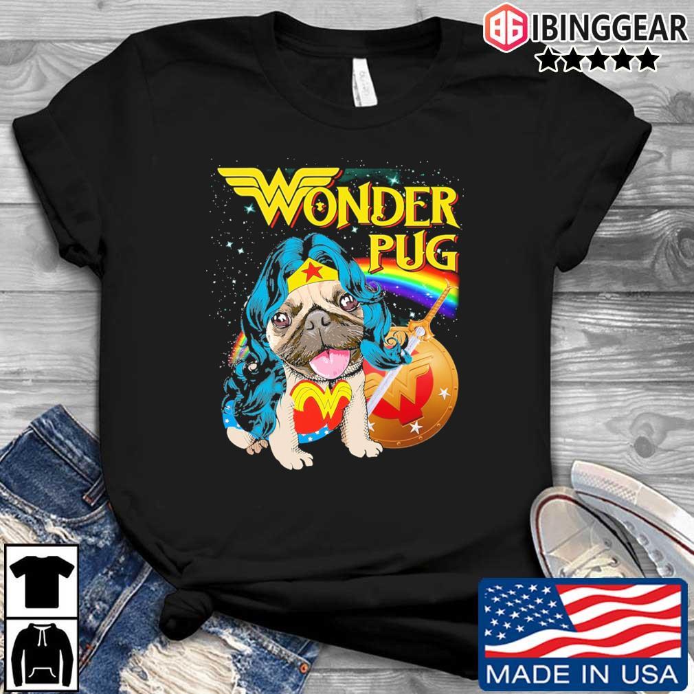Marvel Wonder Pug shirt